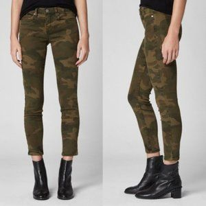 BLANK NYC Denim The Reade Crop Camo Skinny Jeans